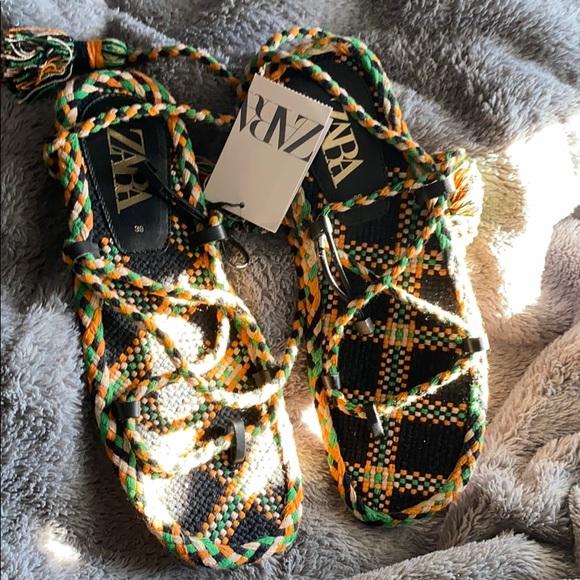 Zara sandals for sale!
